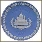 St Paul's Cathedral Collector Plate by Tom Harper