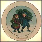 Sharing The Christmas Spirit  Collector Plate