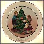 Keeping The Christmas Tradition Collector Plate