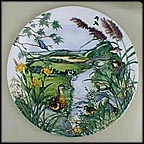 The Meandering Stream Collector Plate by Colin Newman