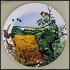 Village In The Valley Collector Plate by Colin Newman