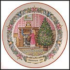 Christmas Stocking Collector Plate