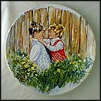 Be My Friend Collector Plate by Mary Vickers