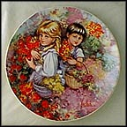 Our Garden Collector Plate by Mary Vickers