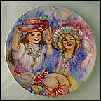 Mother's Treasure Collector Plate by Mary Vickers