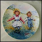 Playtime Collector Plate by Mary Vickers