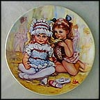 The Recital Collector Plate by Mary Vickers