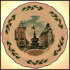 Picadilly Circus Collector Plate by Alan Price