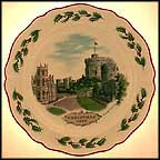 Windsor Castle Collector Plate by Alan Price