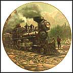 Central Pacific Railroad No. 374 Collector Plate by Robert J. Banks MAIN