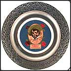 Red Rose Tea Collector Plate