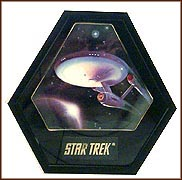 Voyage Of The Starship Enterprise Collector Plate by Mark Newman MAIN