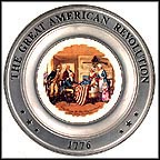 Betsy Ross And The American Flag Collector Plate