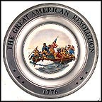 Washington Crossing The Delaware Collector Plate MAIN