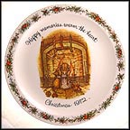 Happy Memories Warm The Heart Collector Plate by Holly Hobbie