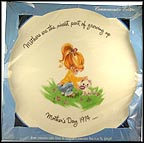 Mothers Are The Nicest Part Of Growing Up Collector Plate by Gigi