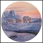 Arctic Journey Collector Plate by Hayden Lambson MAIN