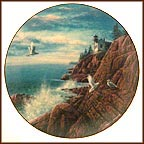 Acadia Collector Plate by Harry Johnson