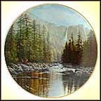 Yosemite Falls Collector Plate by Harry Johnson