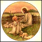 The Lord's My Shepherd Collector Plate by Cicely Mary Barker