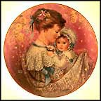 Cherished Moment Collector Plate by Brenda Burke