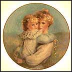 Precious Embrace Collector Plate by Brenda Burke