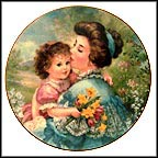Treasured Kisses Collector Plate by Brenda Burke