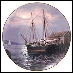 Shimmering Light Of Dusk Collector Plate by Charles Vickery