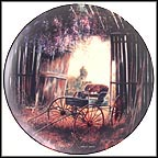 The Spring Buggy Collector Plate by Maurice Harvey