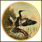 The Anhinga Collector Plate by James Faulkner