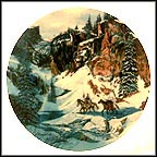 Trail Of The Talismans Collector Plate by Julie Kramer Cole