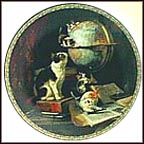 Globetrotters Collector Plate by Henriette Ronner