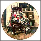 Country Cuttings Collector Plate by Glenna Kurz