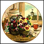 Gardener's Delight Collector Plate by Glenna Kurz