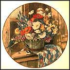 The Springtime Arrangement Collector Plate by Glenna Kurz