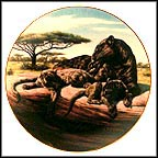 Quiet Time? Collector Plate by Greg Beecham