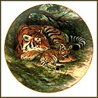 The Siberian Tiger Collector Plate by Will Nelson