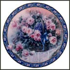 Roses Collector Plate by Lena Liu