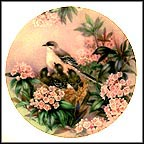 Song Of Spring Collector Plate by Lena Liu