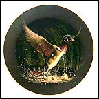 Winged Splendor Collector Plate by Tommy Humphrey