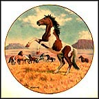The Mustang Collector Plate by Donald Schwartz