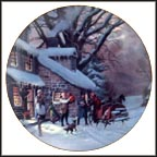 The Homecoming Collector Plate by Lloyd Garrison