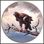 The Golden Eagle Collector Plate by Charles Fracé MAIN