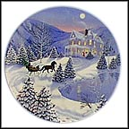 I'll Be Home For Christmas Collector Plate by Jean Sias MAIN