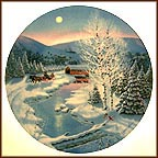 Jingle Bells Collector Plate by Jean Sias
