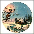 "Full Moon Companions Collector Plate by D. L. ""Rusty"" Rust"