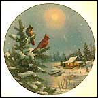 "Moonlight Retreat Collector Plate by D. L. ""Rusty"" Rust"