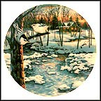 "Silent Sunset Collector Plate by D. L. ""Rusty"" Rust"