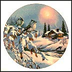 "White Night Collector Plate by D. L. ""Rusty"" Rust"