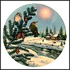"Winter Reflections Collector Plate by D. L. ""Rusty"" Rust"